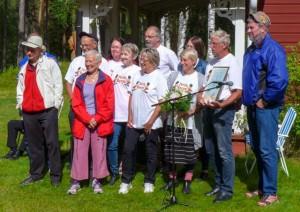 Kommunens kulturdiplom tilldelades Färila Revyn